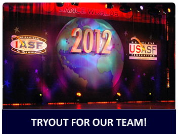 Tryout for our competitve dance and gymnastics teams