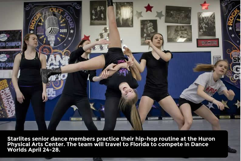 Starlites Competitive Dance Team Heads To Dance Worlds