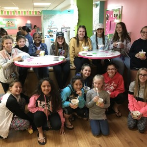 Always have to visit Sweet Frog for ice cream!