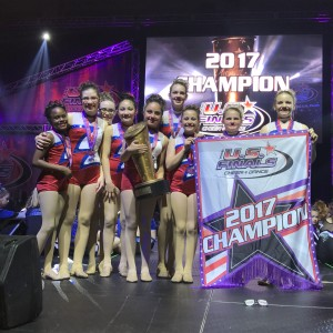 Starlites Youth Jazz and Lyrical Team 1st place Champions